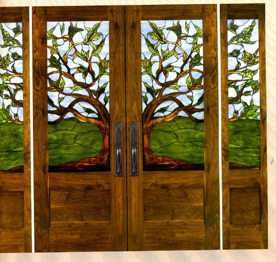 Domythic Bliss: Front Door Glass