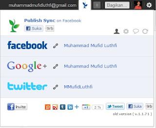 Hubungkan Google Plus dengan Social Network | Khamardos Blog