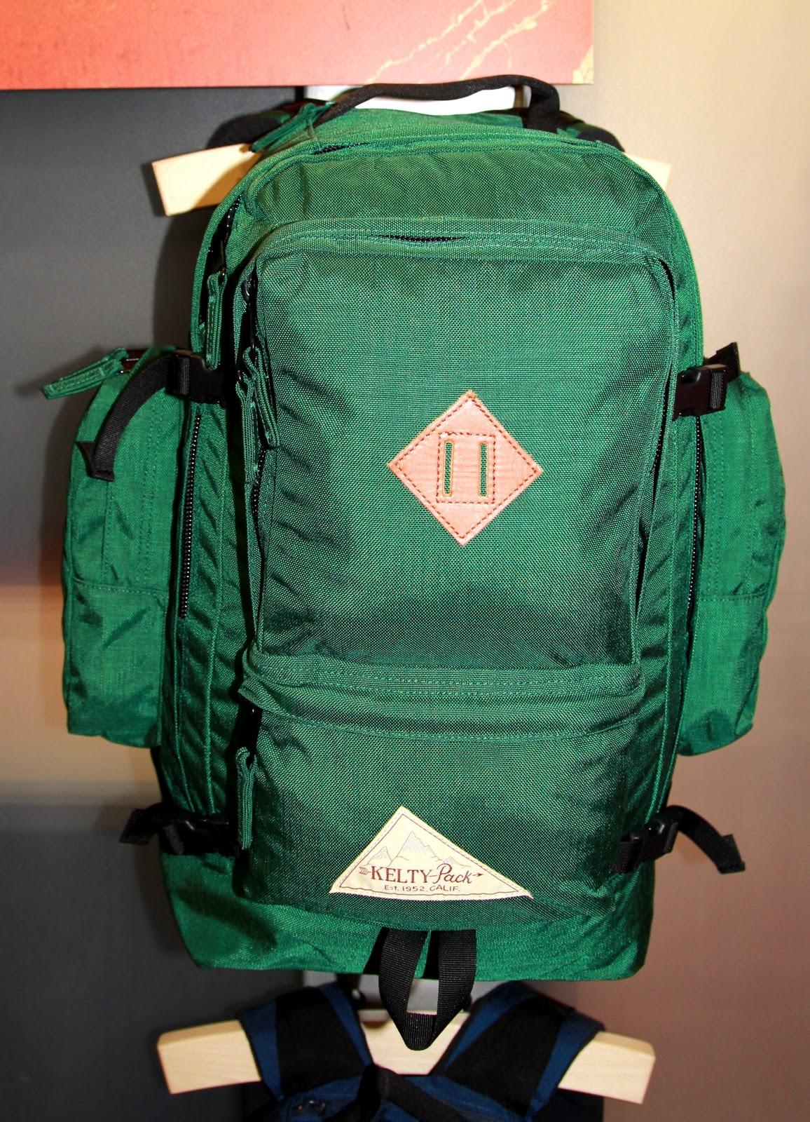 kelty vintage backpacks spring 2012