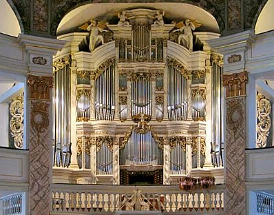 The Trost Organ at the church in Waltershausen, Germany