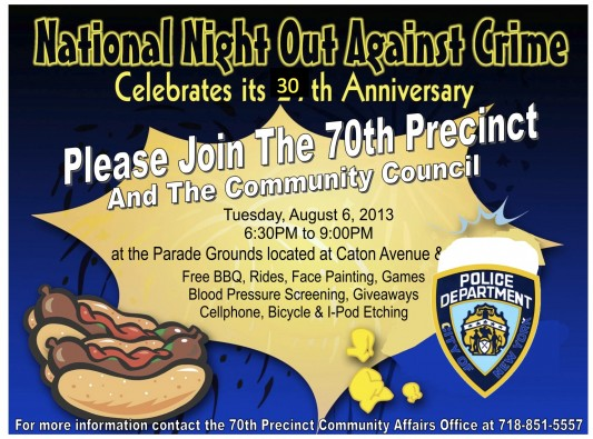 National Night Out Flyer Template National Night Out - oukas.info