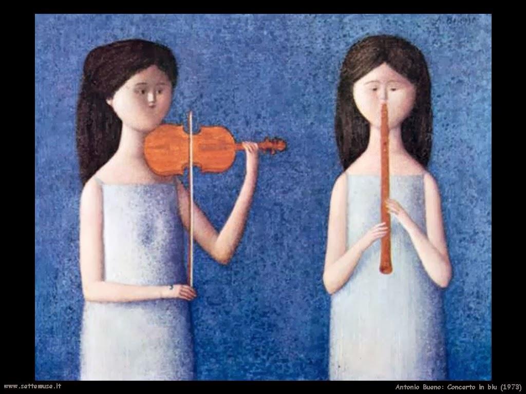Antonio BUENO, Concerto in Blu