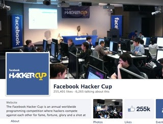 Facebook 2013 Hacker Cup Registration