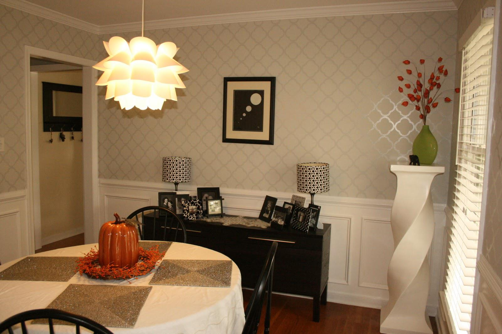 formal dining room color schemes