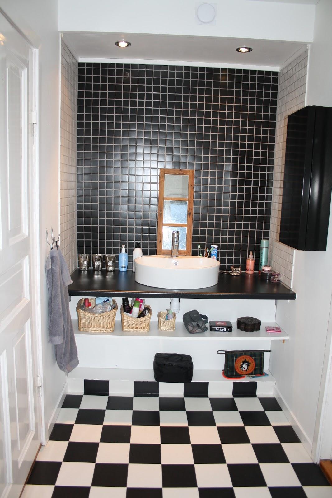 Dagdrömmar & verklighet: vårt nya badrum