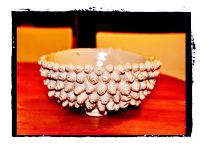 ceramic snails bowl