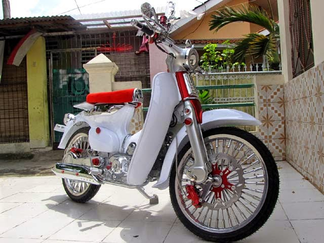 foto modifikasi honda 70