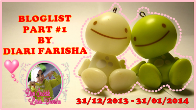 Bloglist Part #1 By Diari Farisha
