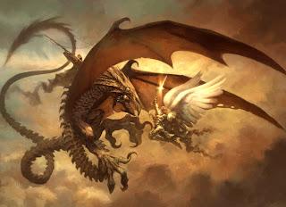 Imagenes de dragones guerreros