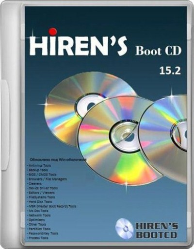 Hiren's BootCD 15.2 Final Terbaru