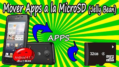 Portada del tutorial de como mover las aplicaciones a la tarjeta SD en Android Jelly Bean