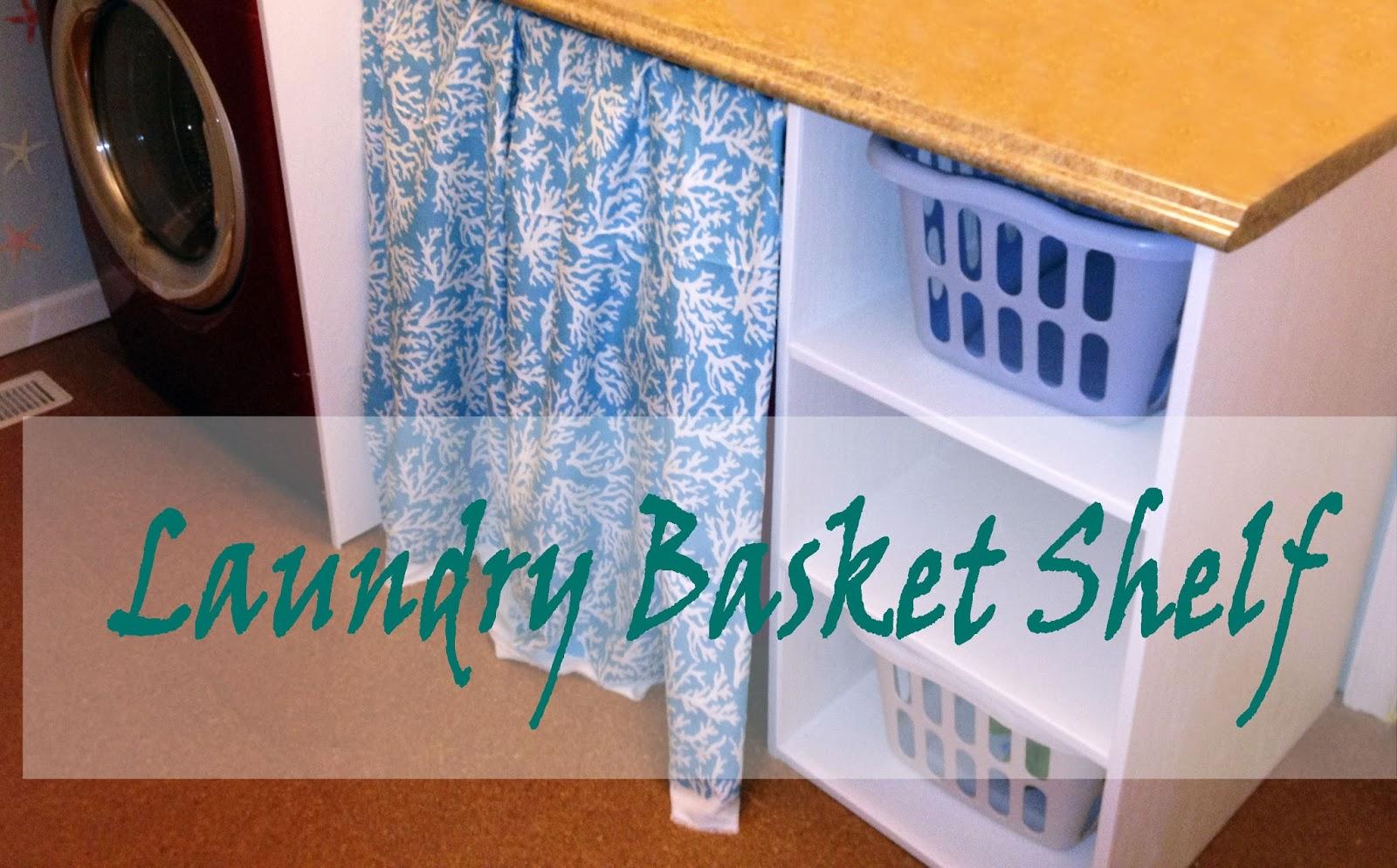 Amazing DIY Laundry Basket Shelves 1600 x 994 · 279 kB · jpeg