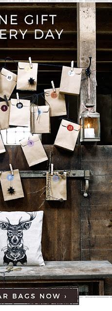 CHRISTMAS PAPER CALENDAR BAGS, S/24
