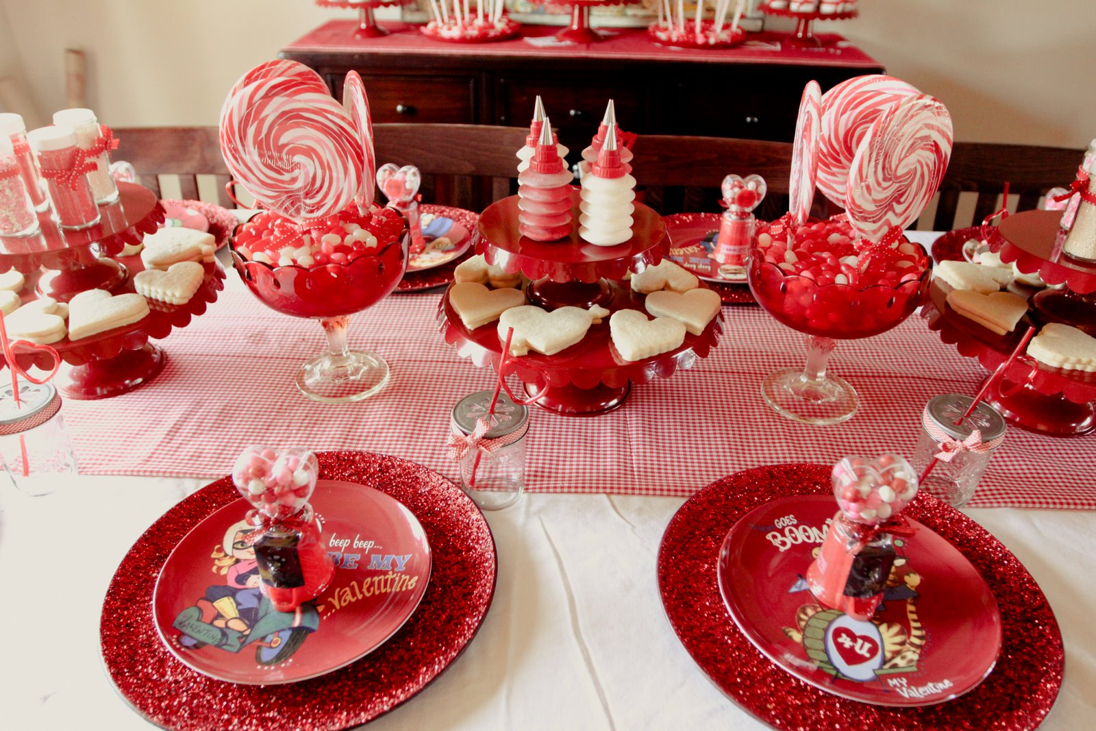 Valentine Dinner Party Ideas Part - 39: Jenny Cookies