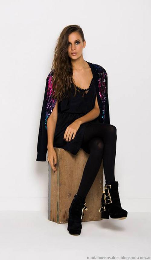 Doll Store vestidos de encaje otoño invierno 2014.