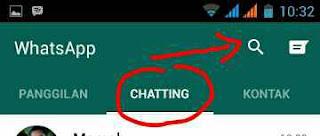 Fitur pencarian whatsapp
