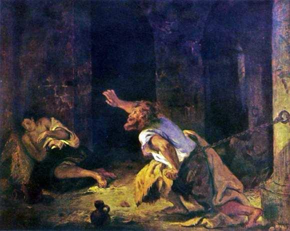Karya Lukis Eugene Delacroix