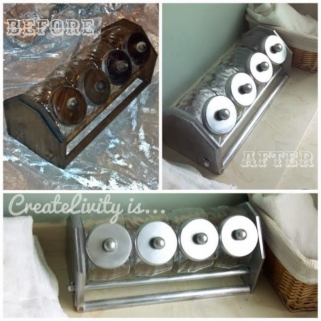 createlivity is repurposed kitchen canister set