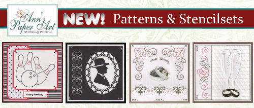 NEW PATTERNS AND STENCIL SETS