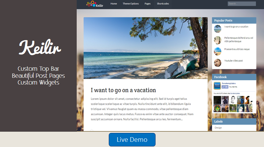 keilir personal blogger template 2014 for blogger or blogspot