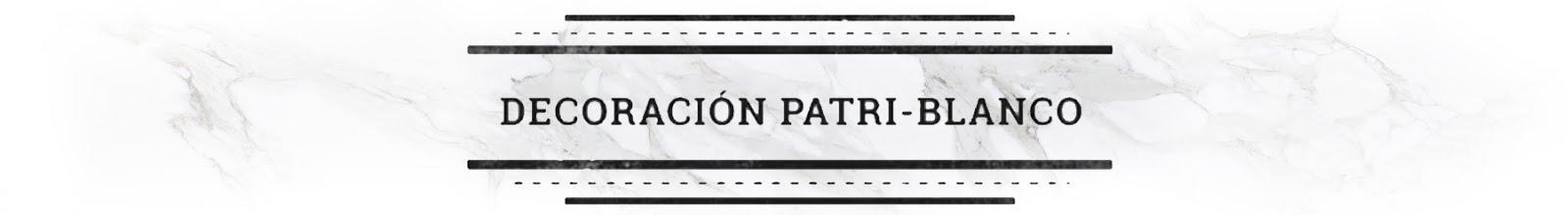 Deco Patri-Blanco