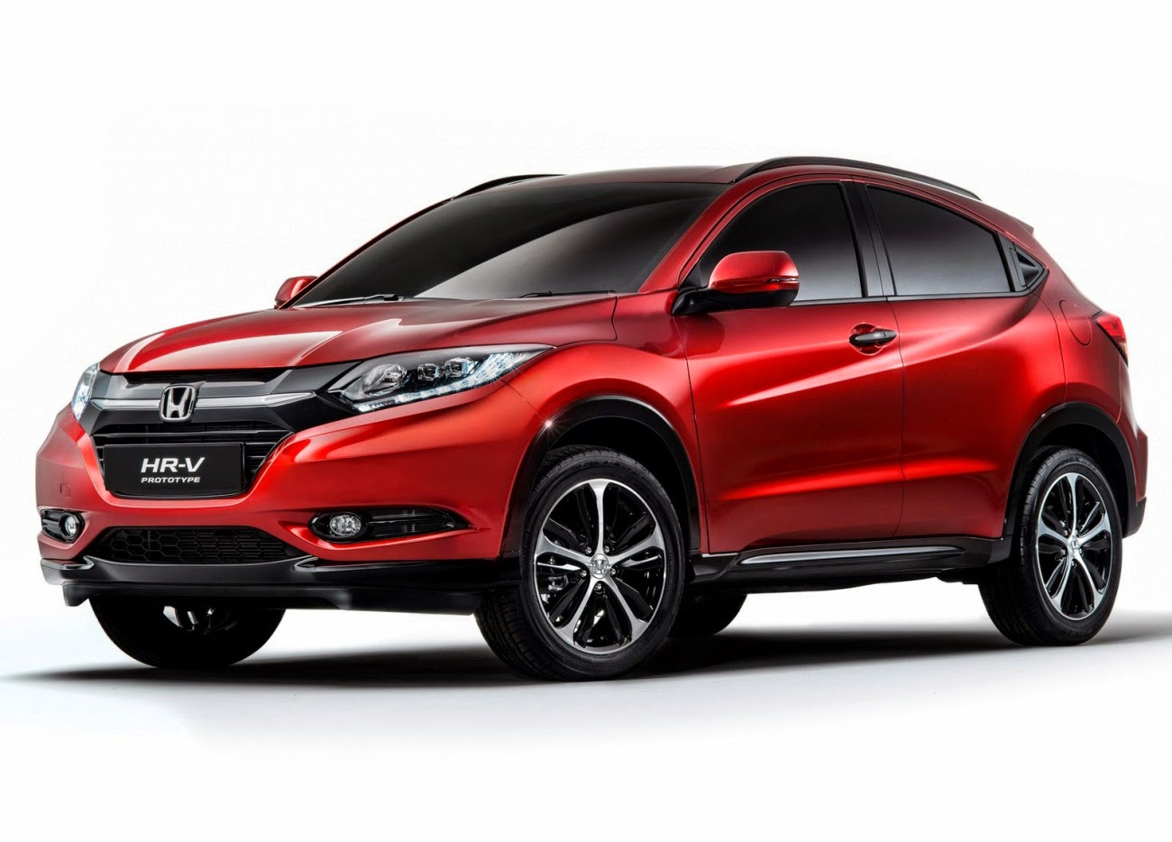 Foto Honda HR-V dari samping