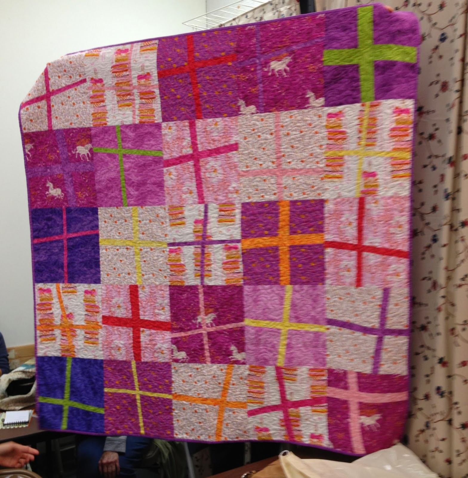 Quilt Guild Project Ideas : Baltimore Modern Quilt Guild: October Meeting: Quilt Projects Shared