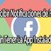 Recibir Notificaciones De Facebook Sin Tener La App Instalada.