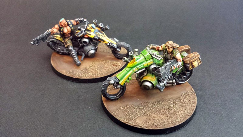 KUM MOTORIZED TROOPS - HAQQISLAM - INFINITY THE GAME
