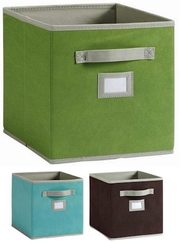 Daily Cheapskate Martha Stewart Living Fabric Storage