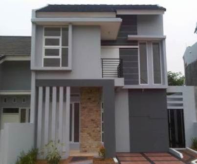 desain rumah minimalis modern 2 lantai type 21 desain