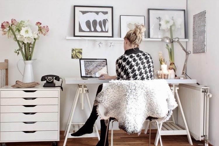 Domowe Biuro VOGUEVA To Blog Zar Wno Modowy Jak I