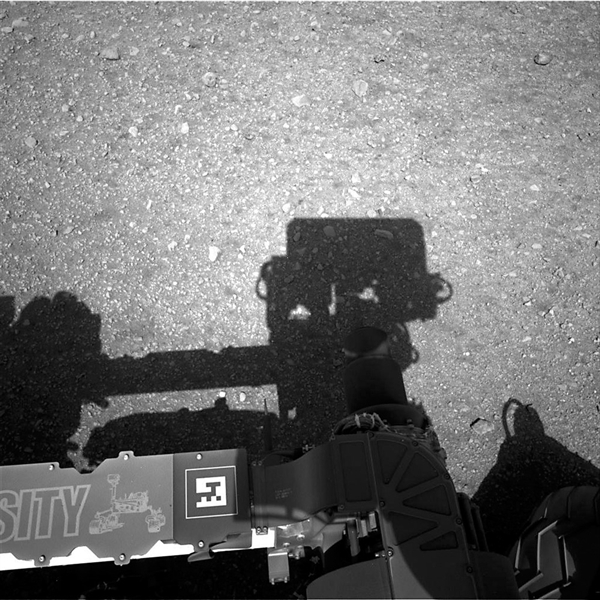 Exclusive images from Curiosity