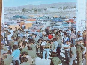 Campamento de la esperanza. Protesta de trabajadores de HIPASAM. 1989