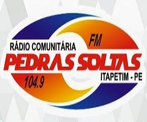 RÁDIO PEDRA SOLTAS FM 104.9