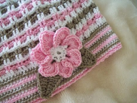 free flower crochet patterns for the adult beret