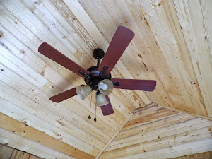 The ceiling fan looks great!