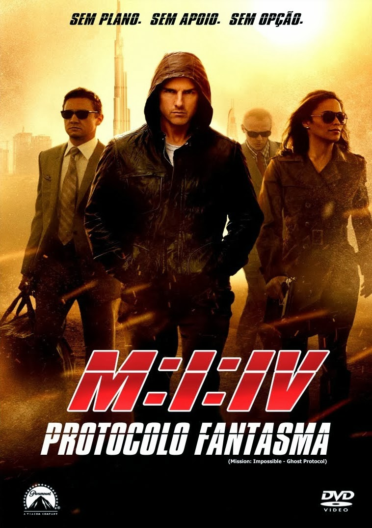 Missão Impossível 4: Protocolo Fantasma – Dublado (2012)