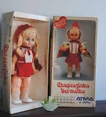 Boneca Chapeuzinho vermelho da Atma