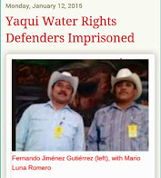 Yaqui Water Defenders Released from Prison