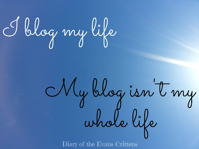 I blog my life