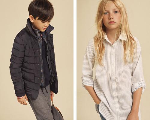 ropa de niños y niñas para la vuelta al cole de Massimo Dutti Back to school