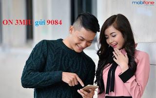 Cú pháp đăng ký gói 3MIU Mobifone