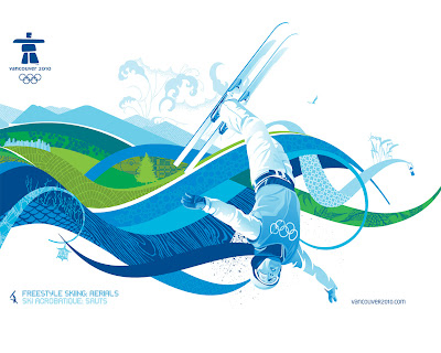Free Vancouver 2010 Olympic Winter Games PowerPoint Background 33