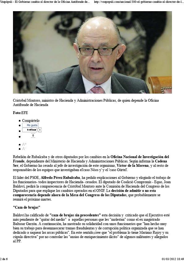 La gran corrupci n relevada c pula directiva de la for Oficina hacienda barcelona