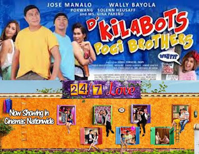 24/7 in Love Gross P75.05 M in 3 Weeks; D' Kilabots Pogi Brothers Hits P32.26 M in 2 Weeks - Box Office Mojo