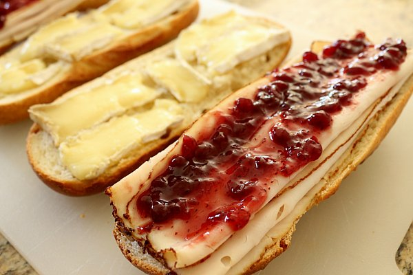... Food: Creative Cooking Crew: BLT (Brie, Lingonberry, Turkey) Sandwich