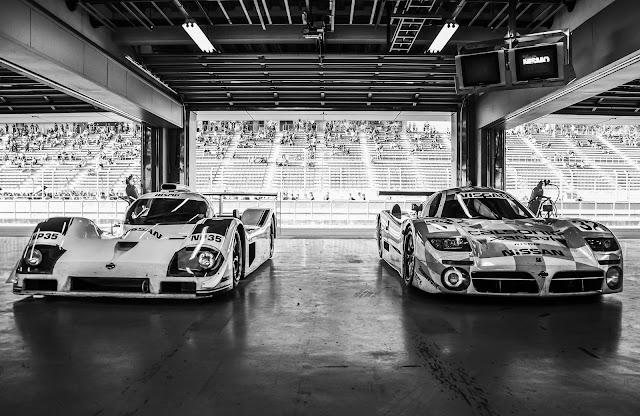 Nissan P35, R390 GT1, wyścigowy silnik V8, japońskie wyścigowe samochody, sportowe, Nismo