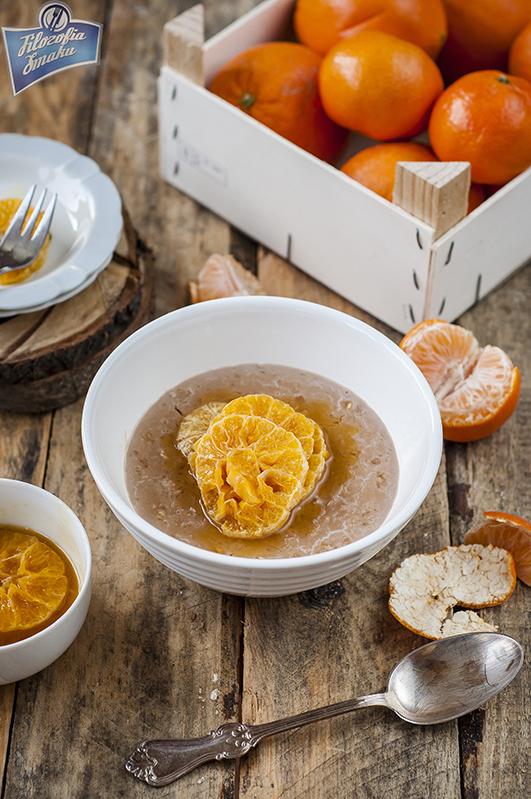 Owsianka z mandarynkami