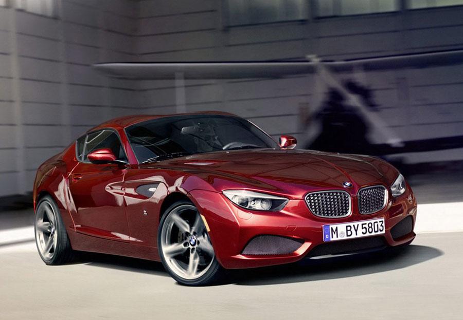BMW Zagato Coupe One-Off Concept profile